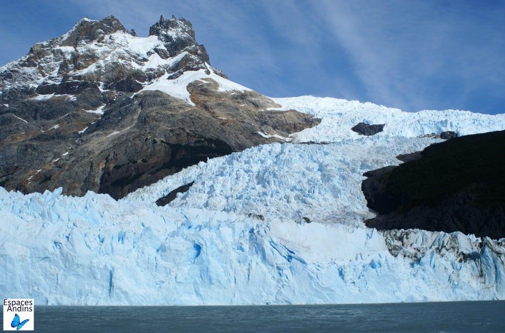 Glacier Spegazzini en Argentine