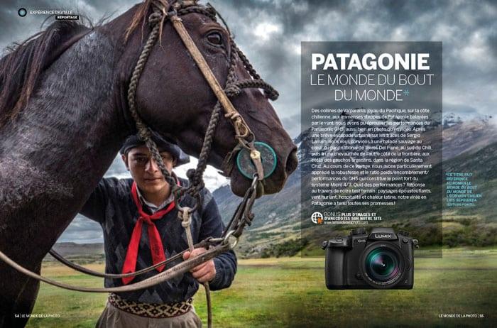 Patagonie, monde de la photo