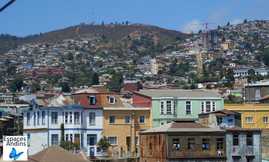 Valparaiso, classé au Patrimoine Mondial par l'Unesco