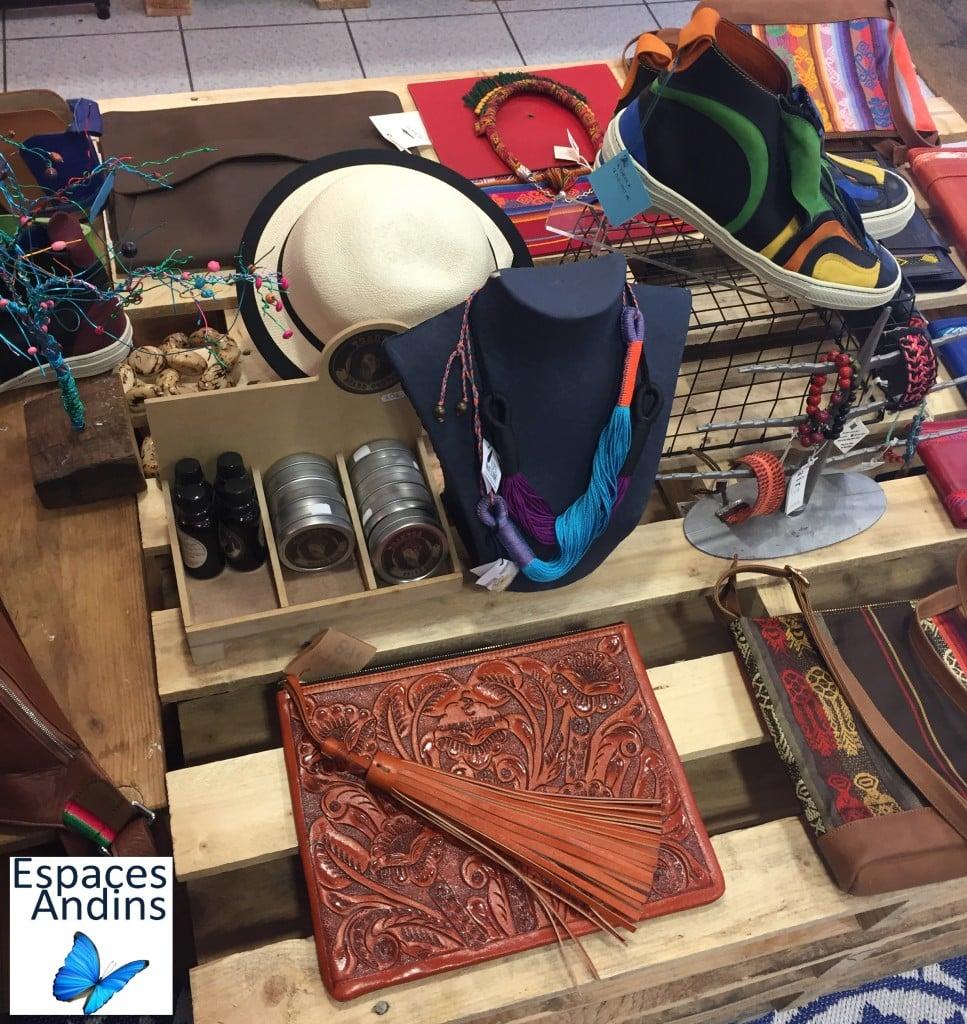 Artisanat de la boutique équatorienne