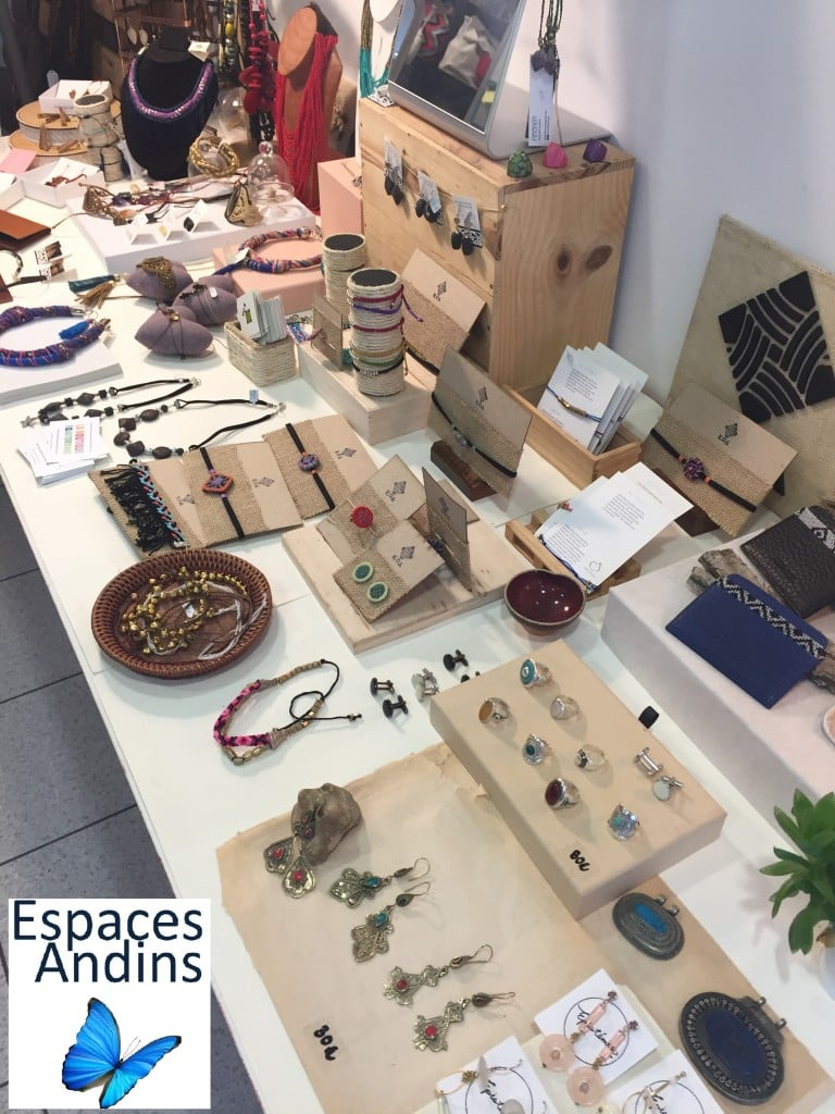 Bijoux de la boutique équatorienne
