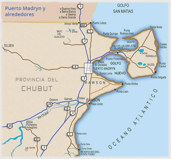 Puerto Madryn et la Peninsule de Valdes // Photo : Turismo Puerto Madryn