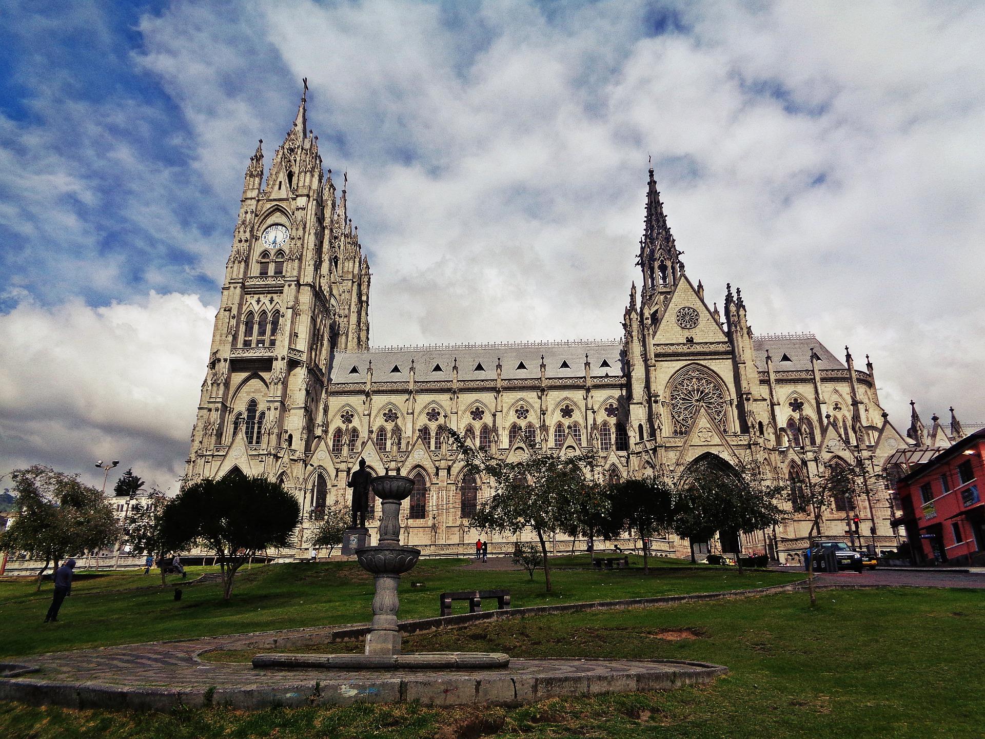 La cathédrale de Quito