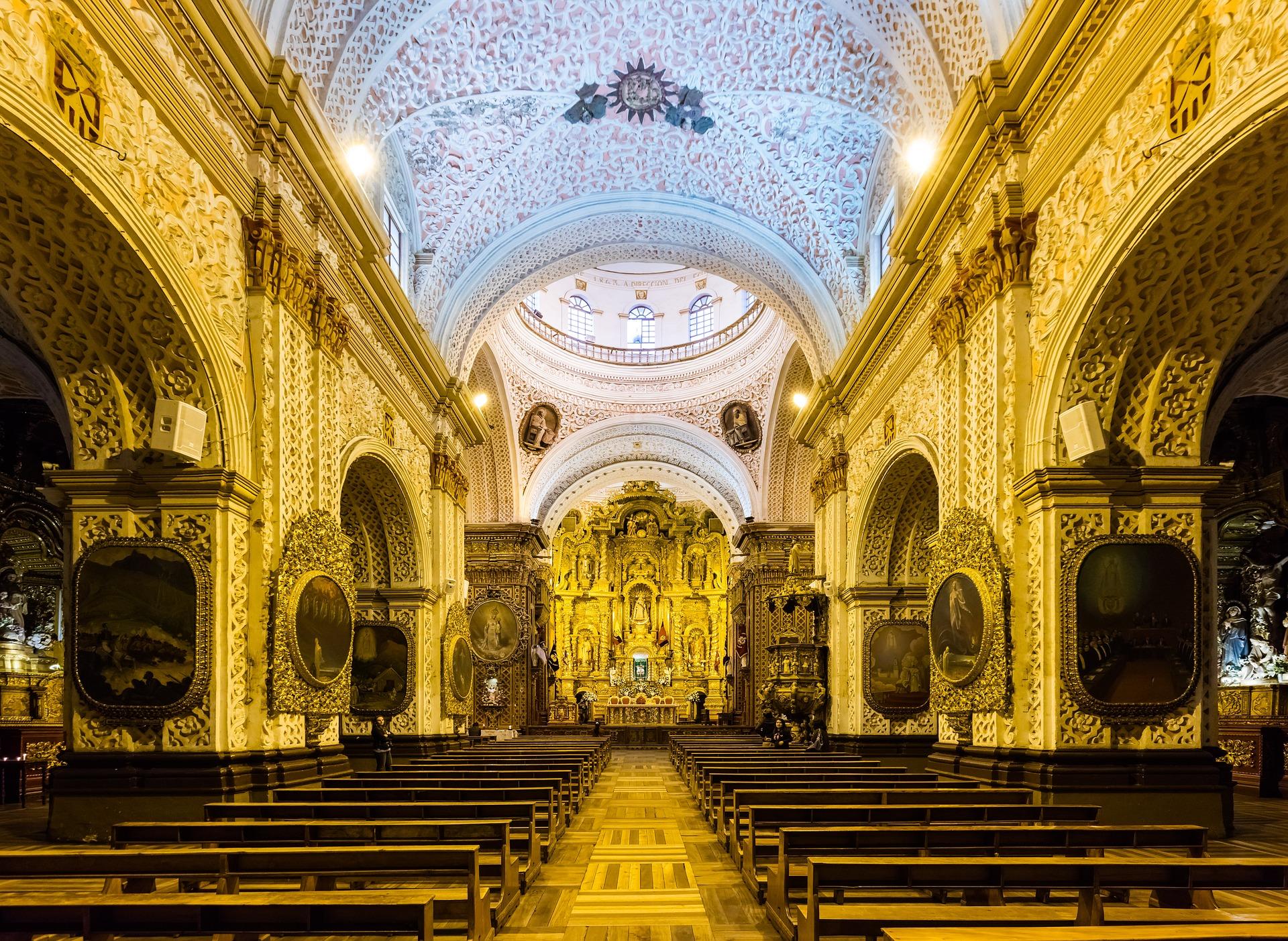 L'église de la Compagnie de Jesus, Quito