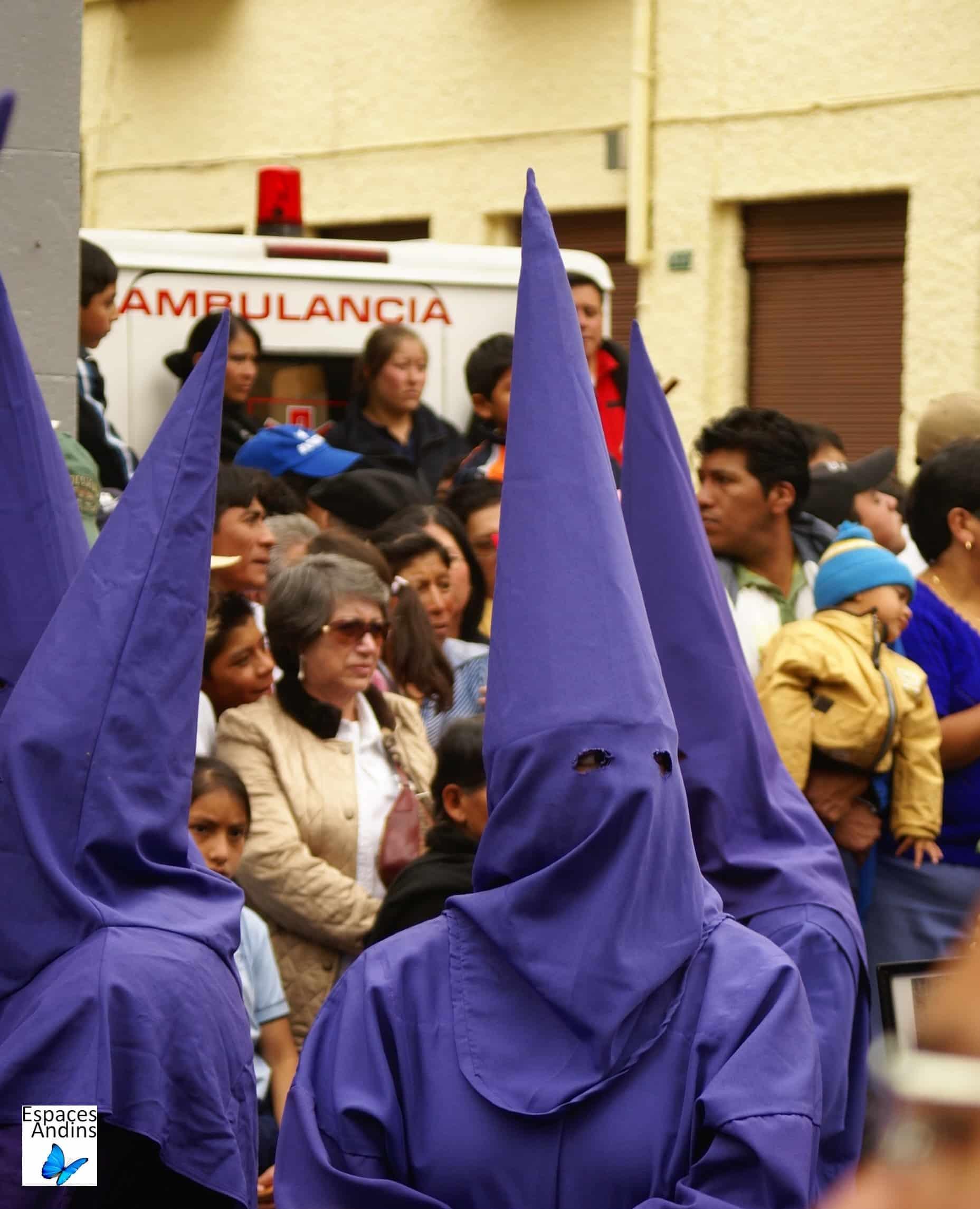 Cucuruchos, Pâques, Quito