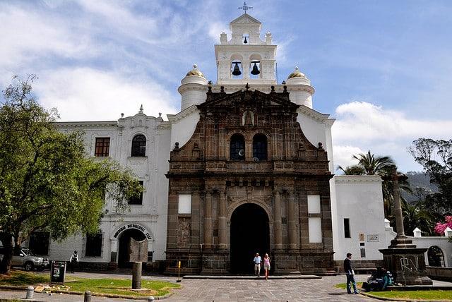 Eglise de Guapulo / Photo : Ecuador noticias