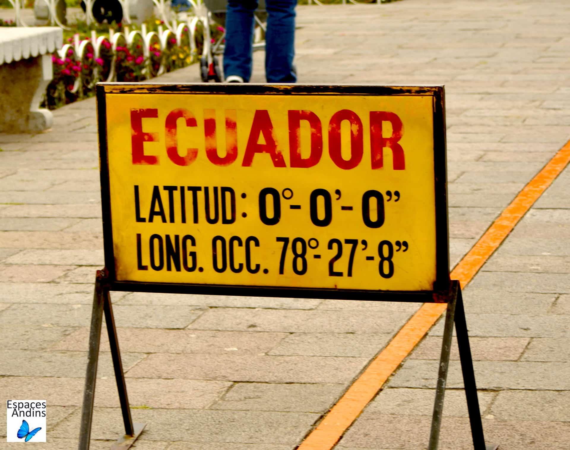 Latitude O / Photo : Espaces andins