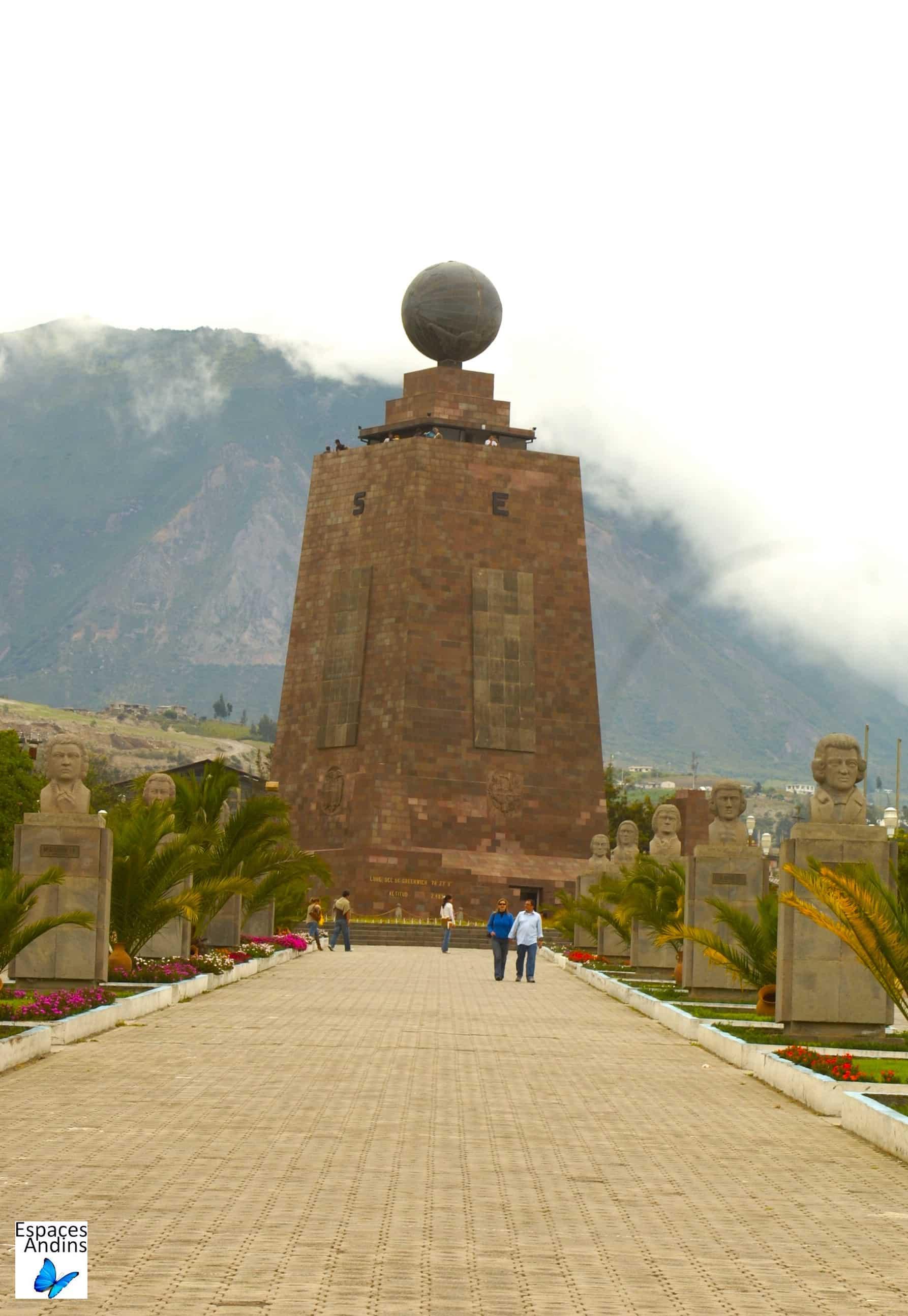 Mitad del Mundo / Photo : Espaces andins