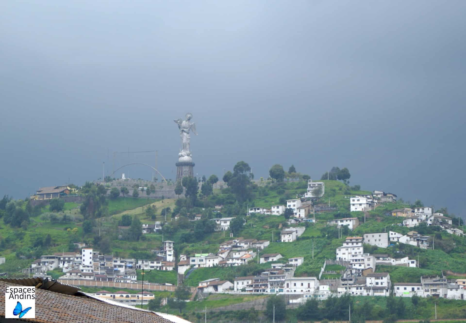 Le panecillo, Quito / Photo : Espaces andins