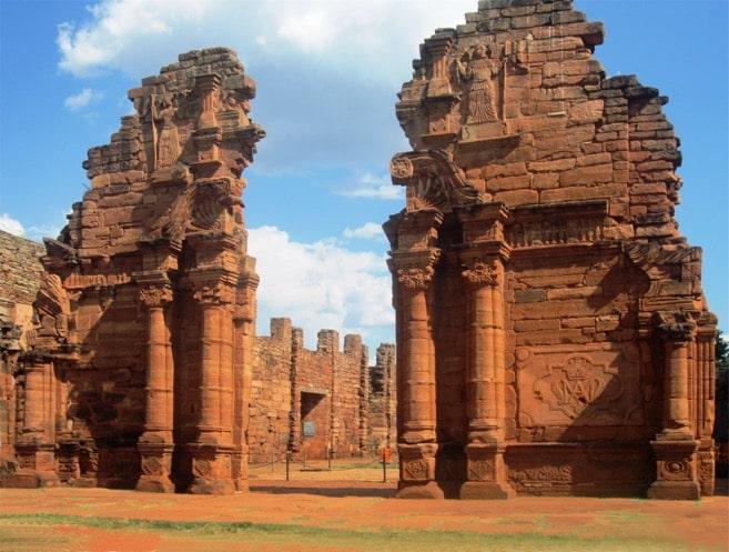 Les ruines missions jésuites