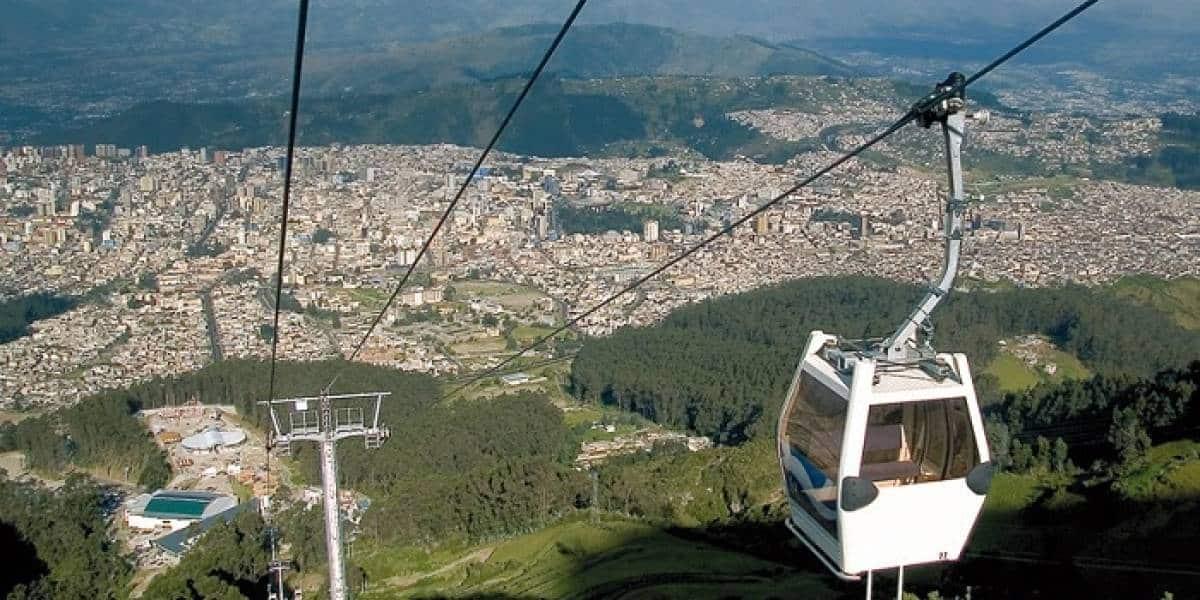 Le téléphérique de Quito