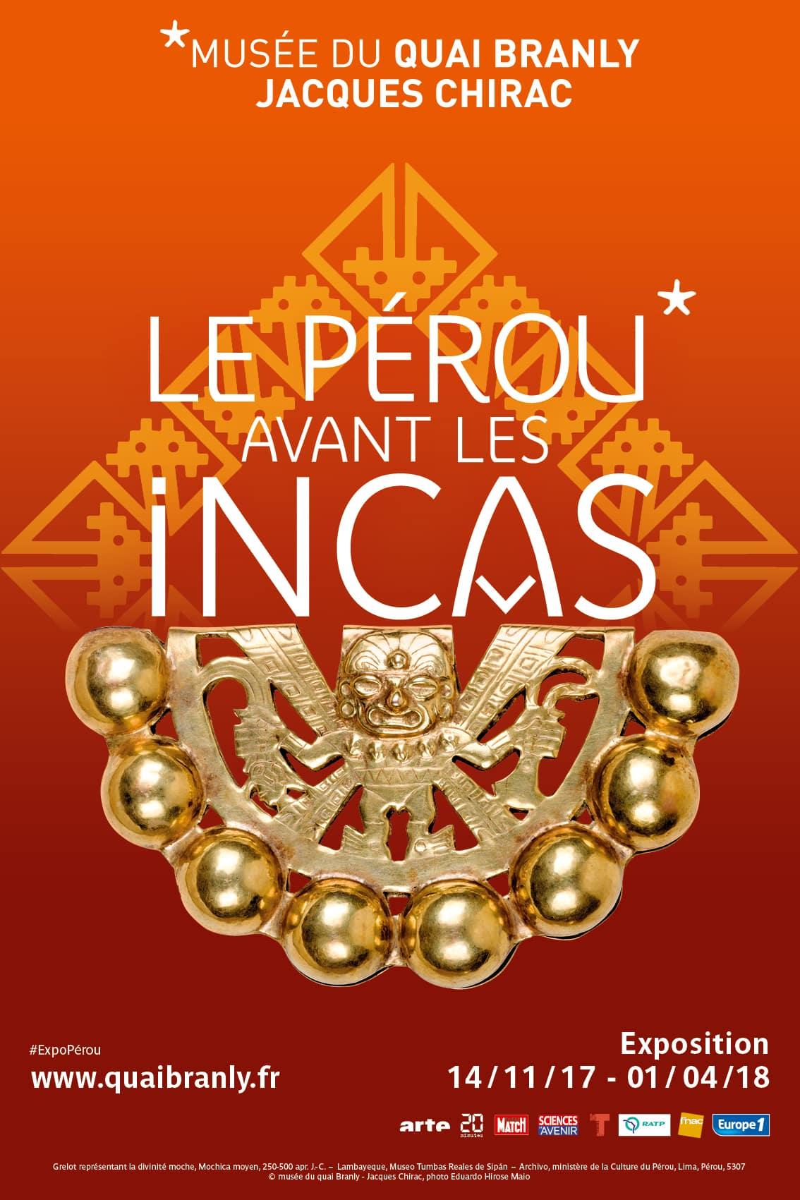 """L""""exposition  Pérou avant les incas  / Photo : Musée du quai branly Jacques Chirac"""