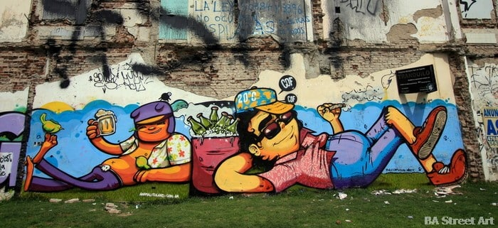 Street Art Buenos Aires - Villa Urquiza / Photo : Buenos Aires Street Art