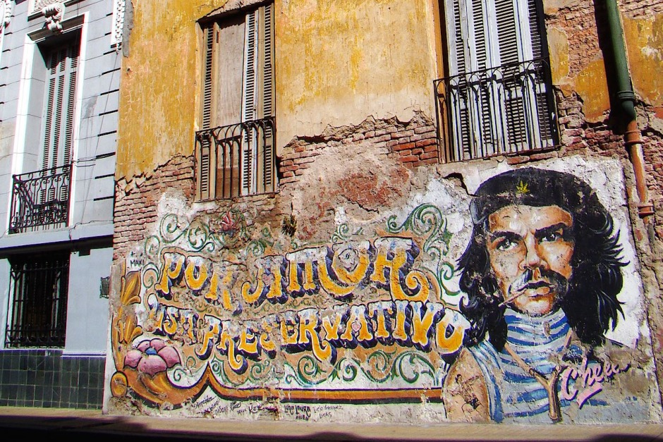 Street art à San Telmo, Buenos Aires / Photo : Matador network
