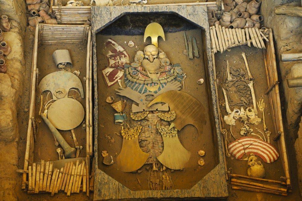 Le seigneur de Sipan, nord du Pérou