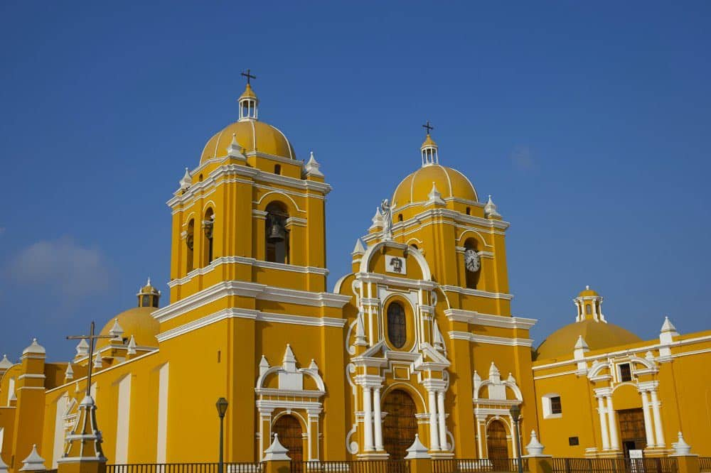 La ville de Trujillo, au nord du Pérou