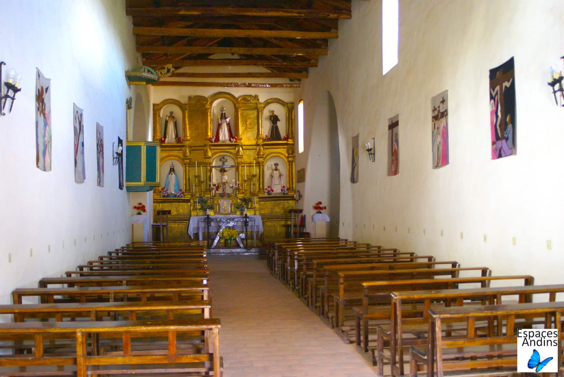 Eglise de Molinos / Photo : Espaces Andins