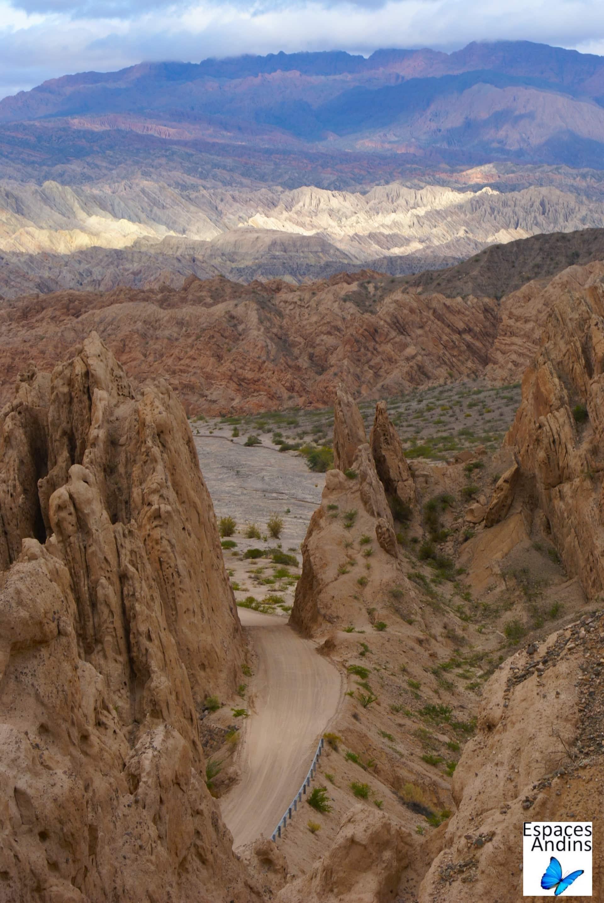 La Quebrada de las Flechas / Photo : Espaces andins