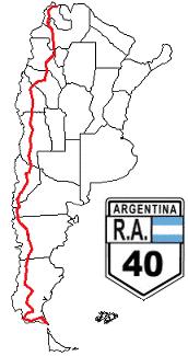La route 40 / Site : ruta40.com