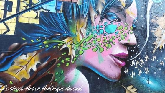 Le « Street Art » Ou L'art De Rue En Amérique Du Sud