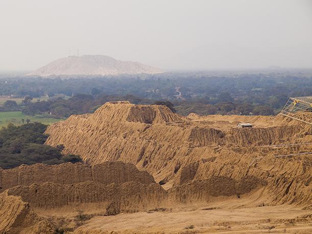 Les pyramides de Tucume dans le nord du Pérou // Photo : Peru.com