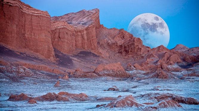 Vallée de la lune, Argentine