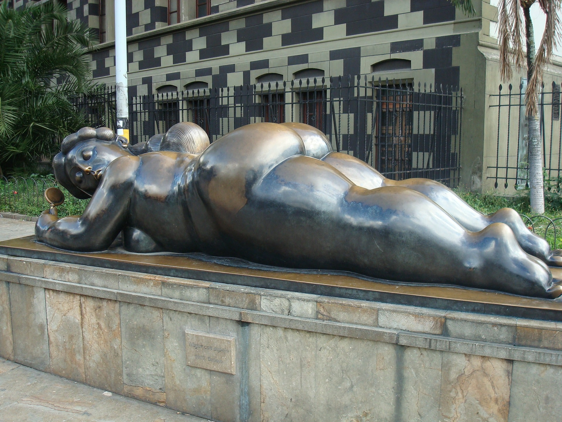 Medellin et le parc avec les statues Botero