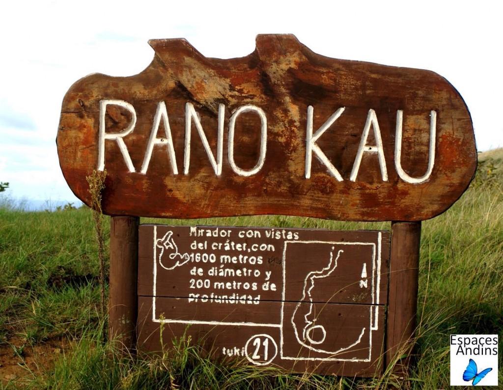 RANO KAU / Photo : Espaces Andins