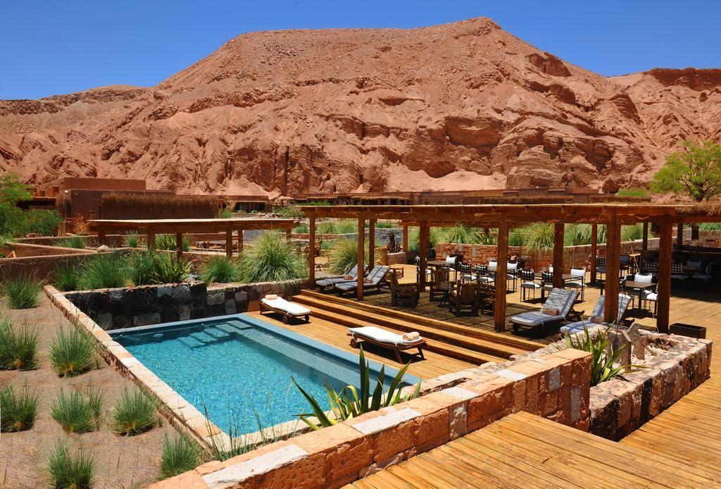 Chili, Atacama, hotel de luxe