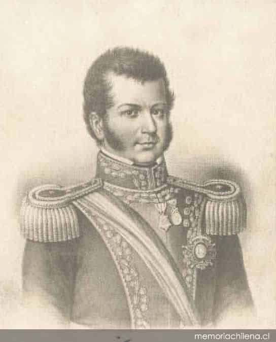 Bernardo O Higgins / Photo : Memoriachilena.cl