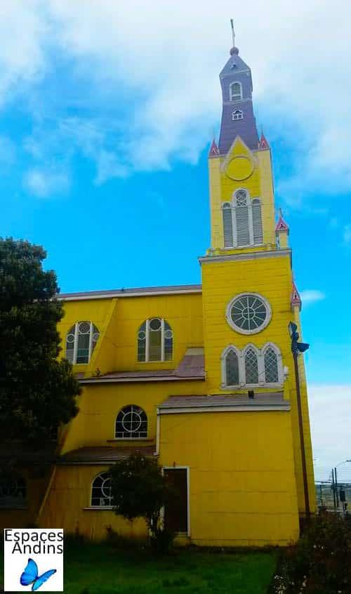 L'église en bois de Castro, Chiloe, Chili