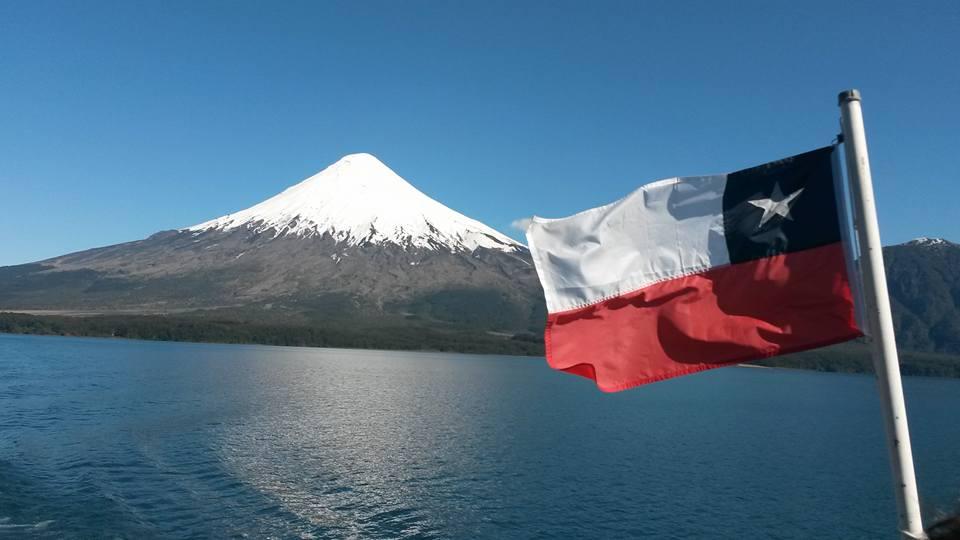 Chili, région des lacs, volcan Osorno / Photo : Espaces Andins