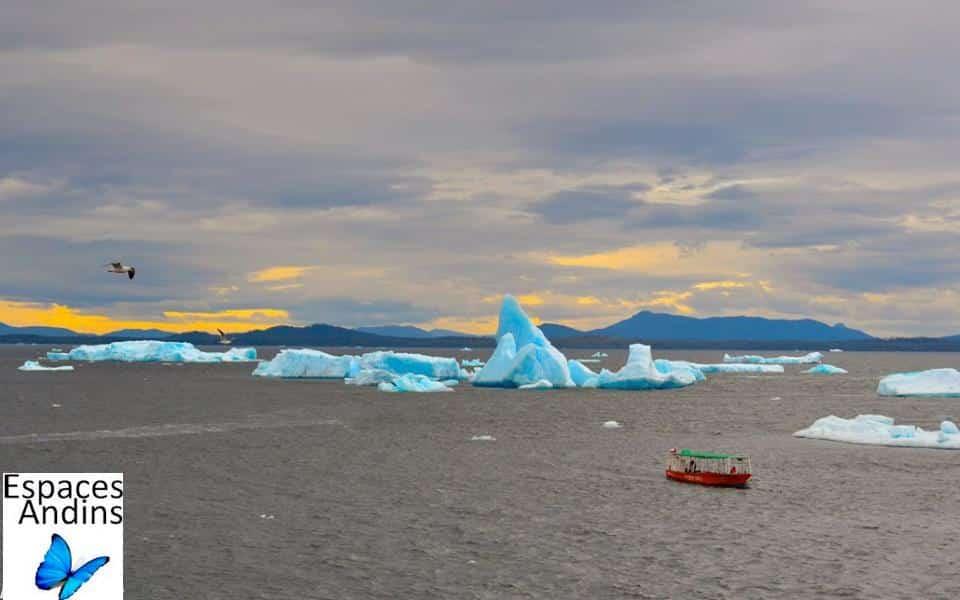 Le glacier San Rafael au Chili, Aysen