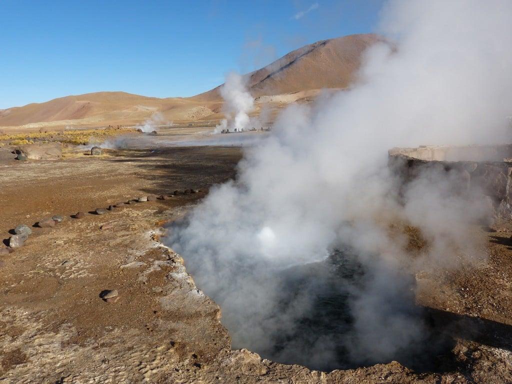 Les geysers du Tatio, Chili