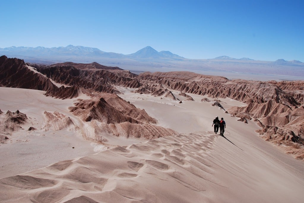 Vallée de la lune, désert Atacama, Chili