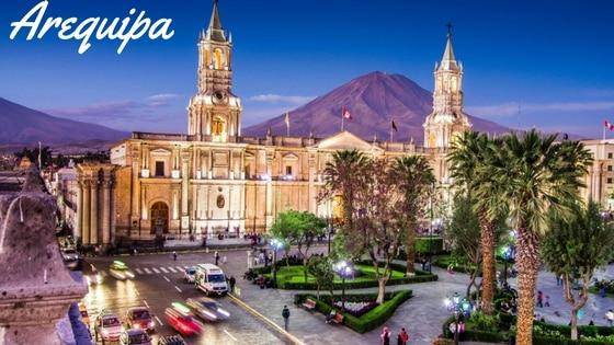 La Ville D'Arequipa Au Pérou