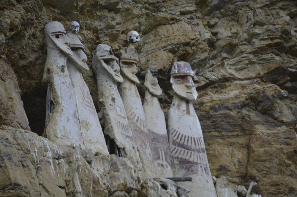 Sarcophages-de-Karajia, nord Pérou