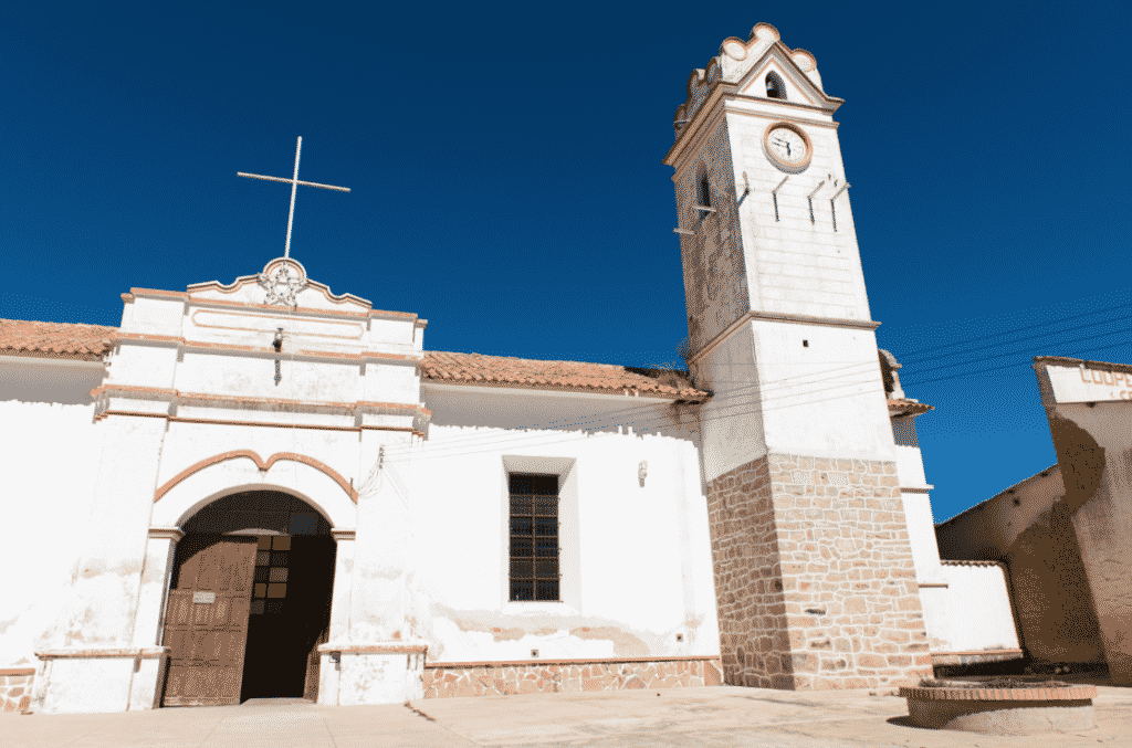 L'église de Tarabuco / Photo : Vincentraal /Flickr