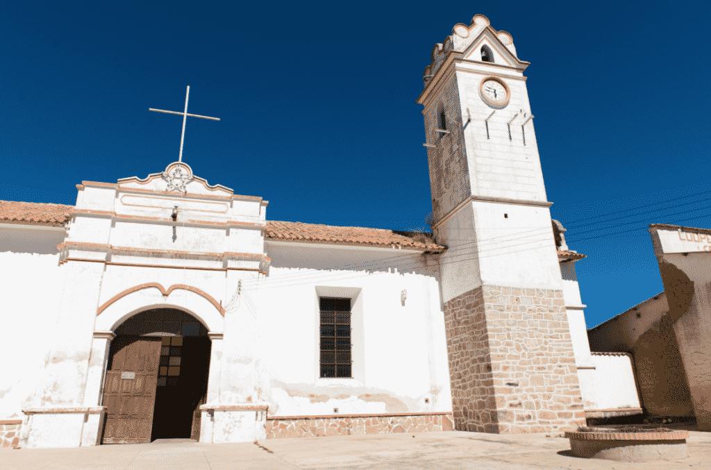 L'église de Tarabuco / Photo : Vincentraal /Flickr