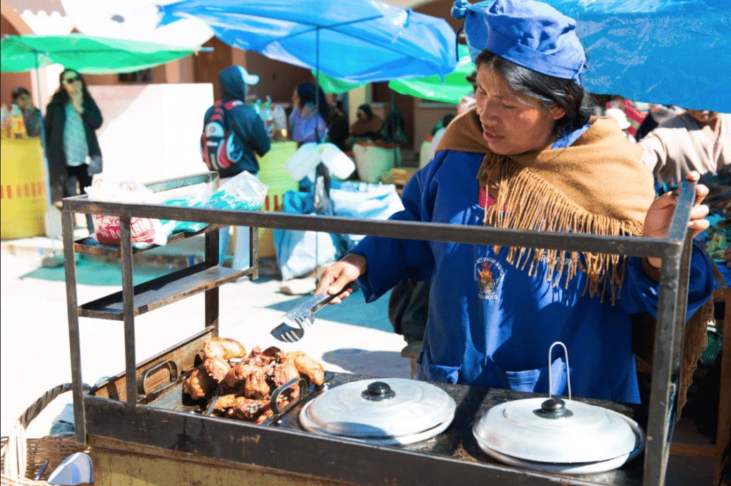 Le marché de Tarabuco / Photo : Flickr/Vincentraal
