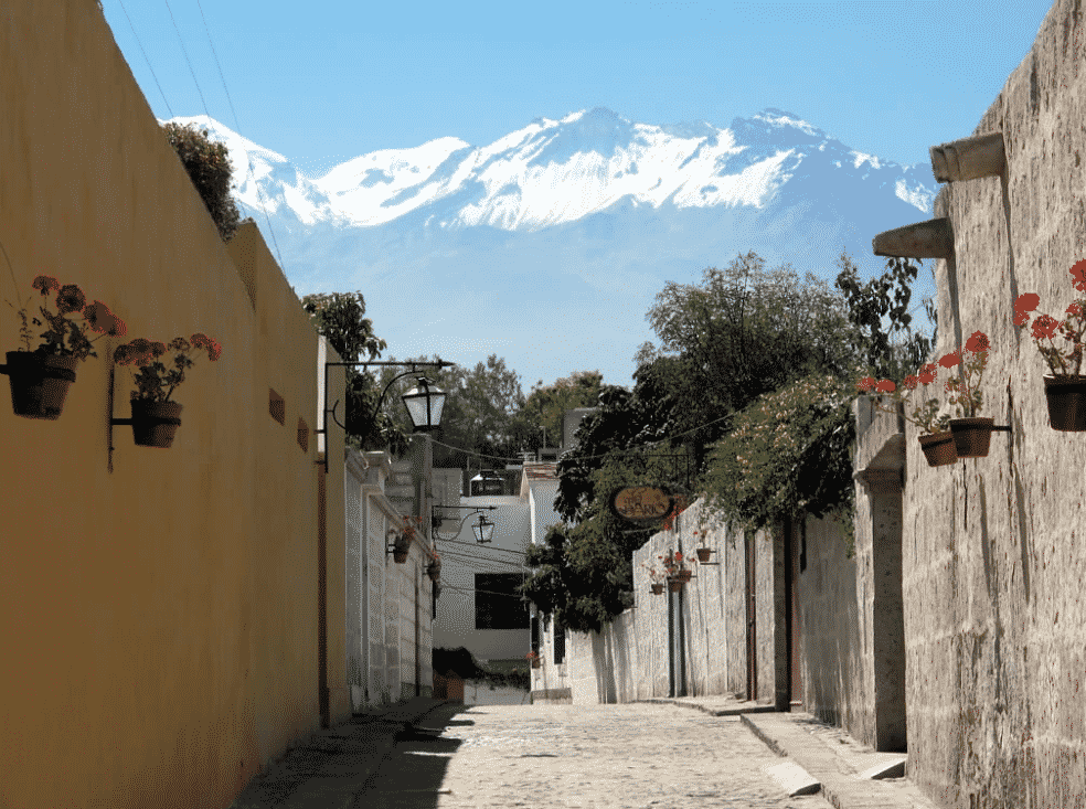 Les ruelles de Yanahuara, Arequipa / Photo : Flickr - David Stanley