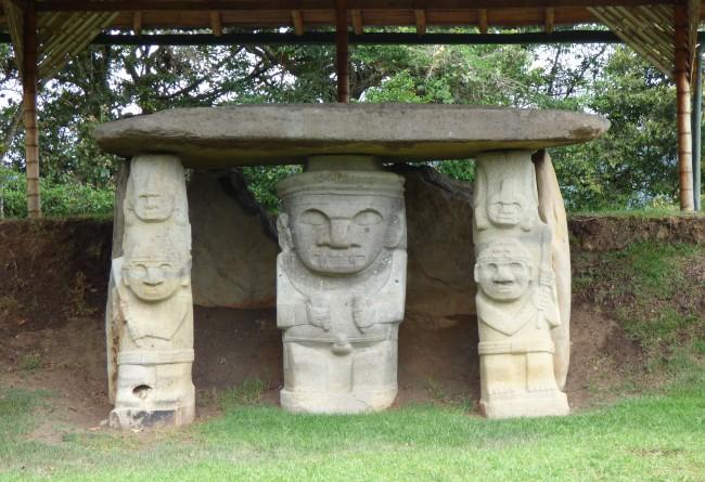 Parc Archéologique De San Augustin, Colombie