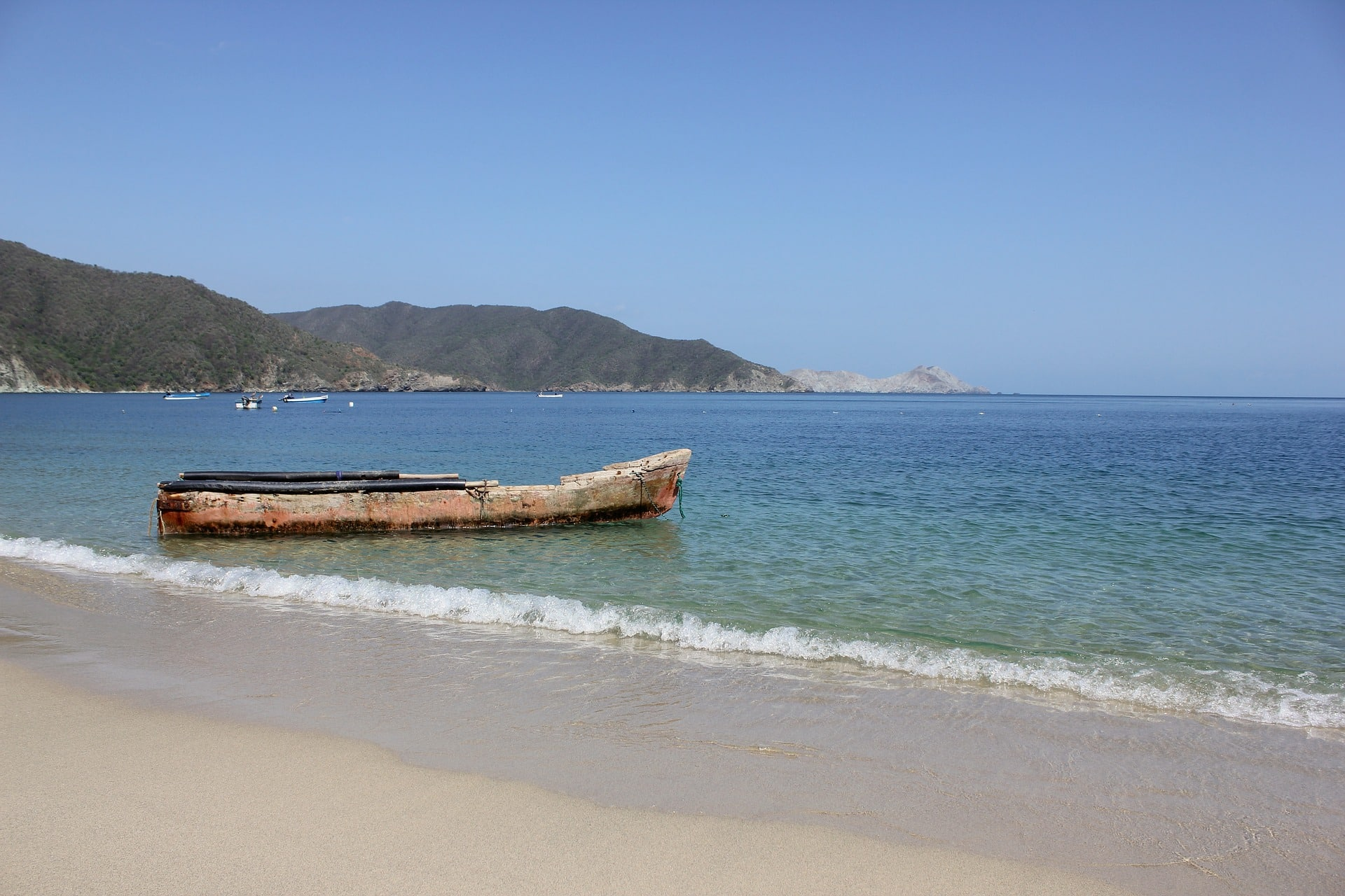 Parc National Tayrona, Colombie, Plage