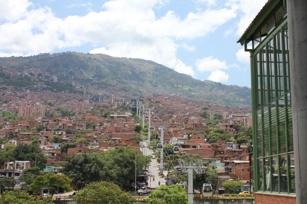 Medellin-Colombie-metro cable