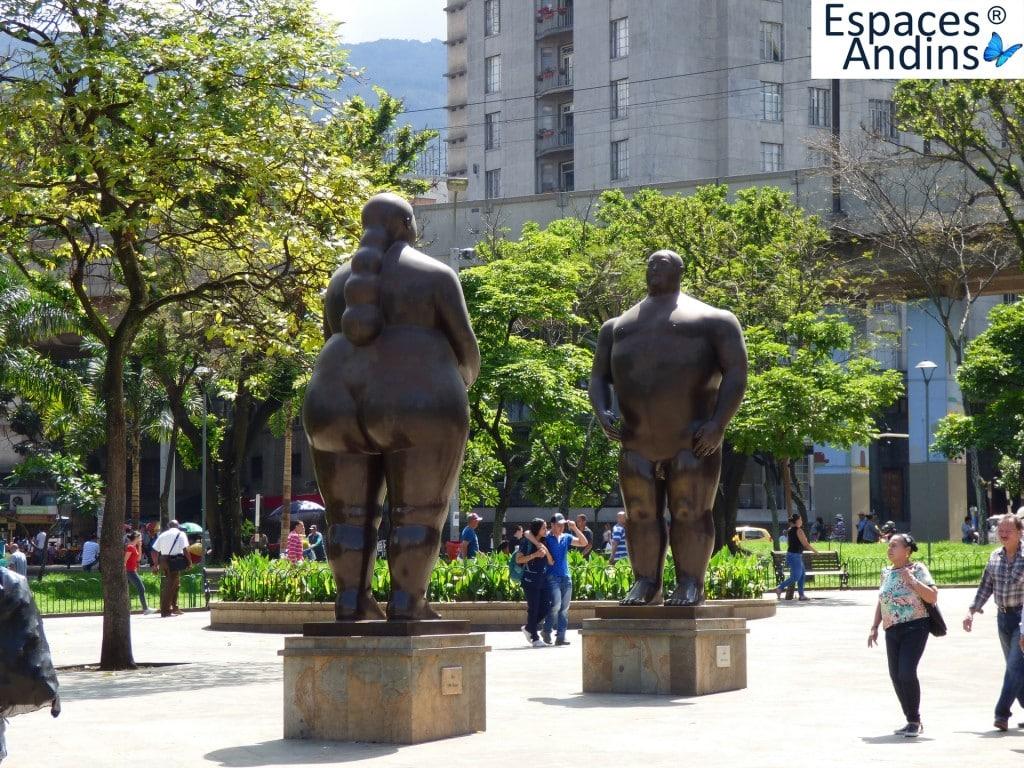 botero, sculpteur; medellin, colombie