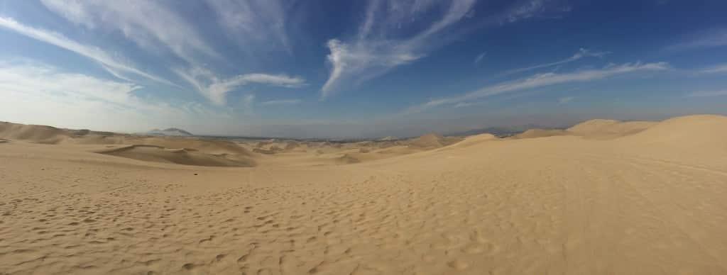 Les dunes du désert