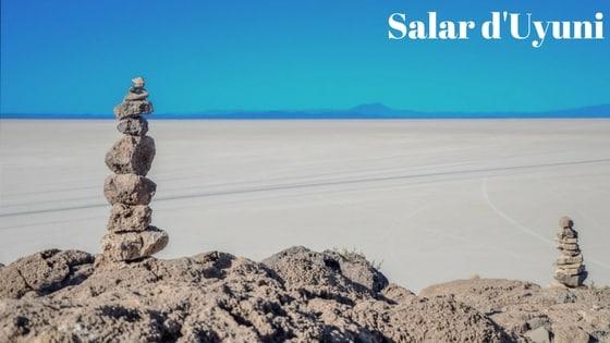 Article Sur Le Salar D'uyuni Dans L'altiplano Bolivien