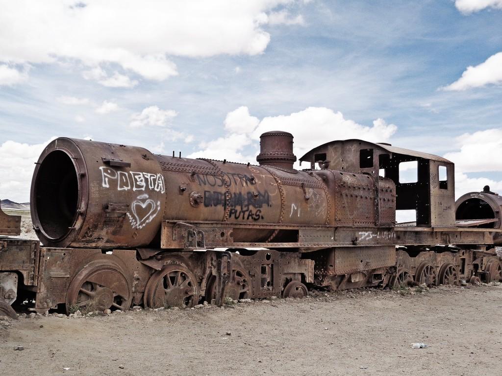 Cimetière de train Uyuni