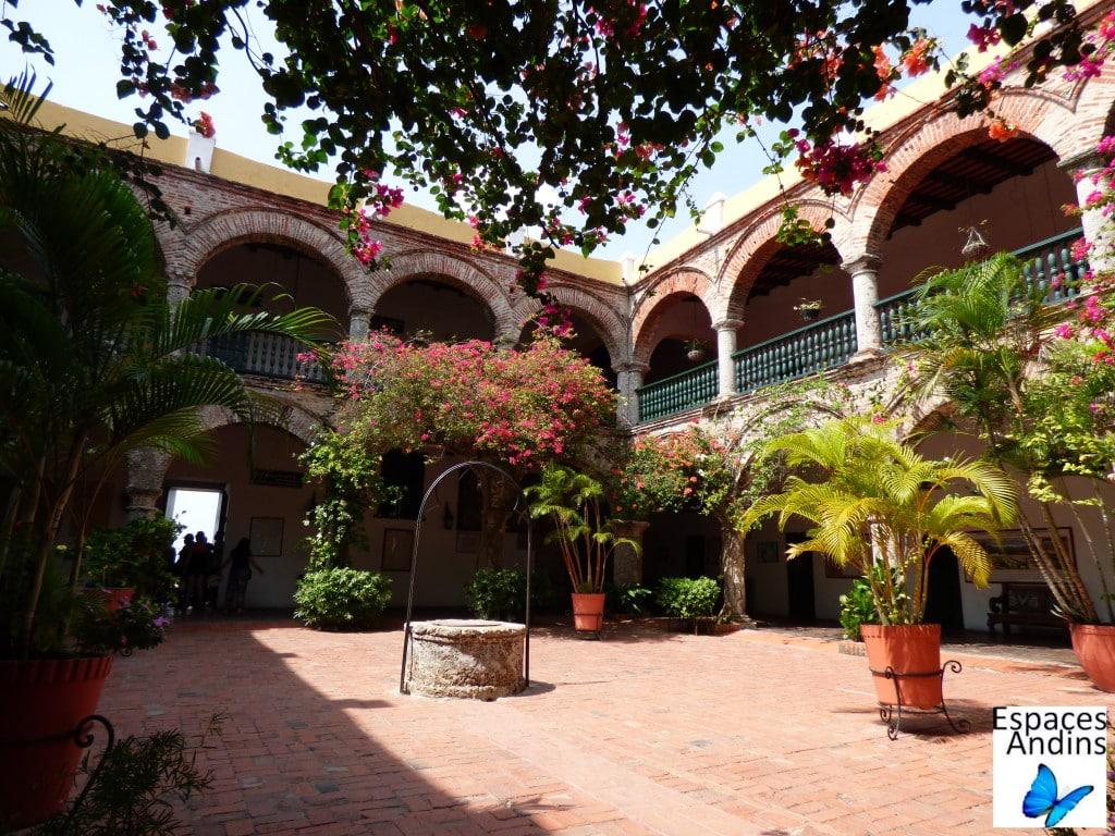 Convento de la popa à Carthagène / Photo : Espaces Andins