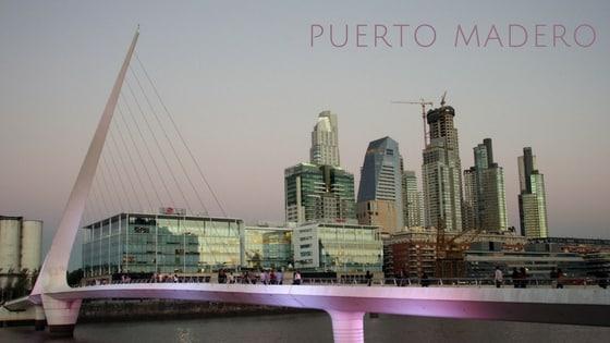 Vue Sur Puerto Madero, Buenos Aires, Argentine